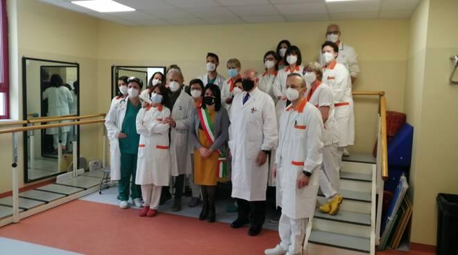 inaugurazione medicina riabilitativa delta 7