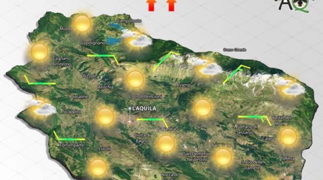 meteo abruzzo l'aquila previsioni 30 marzo 2021