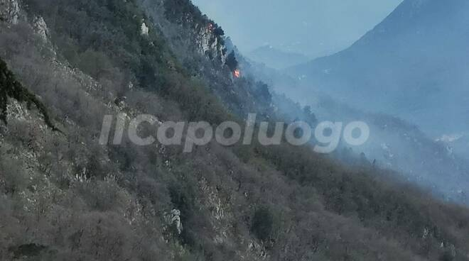 incendio civita d'antino