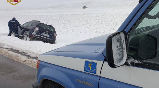 neve stradale soccorso