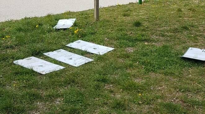 parco del sole atti vandalici