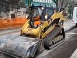 viale duca degli abruzzi lavori asfalto