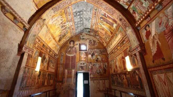 bominaco e oratorio san pellegrino