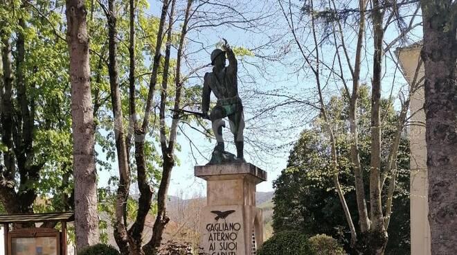 gagliano aterno, monumento ai caduti