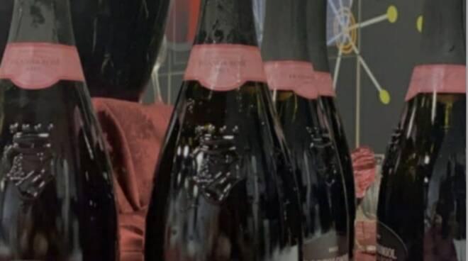bottiglie festa