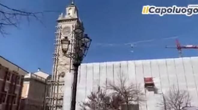 torre civica piazza palazzo