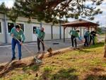area verde scuola santa barbara