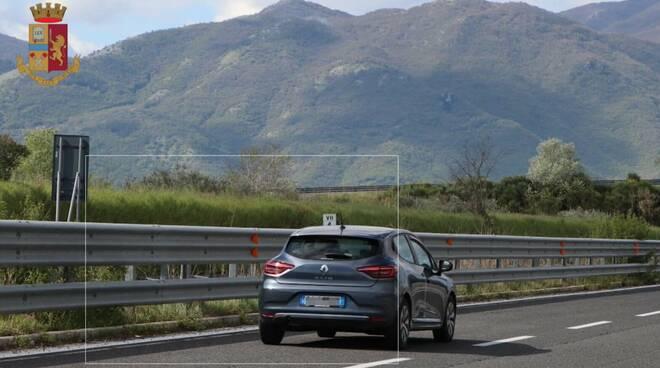 controlli velocità stradale