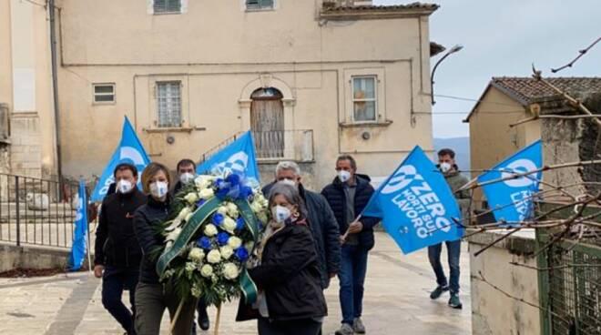 San Pio delle camere commemorazione UIL