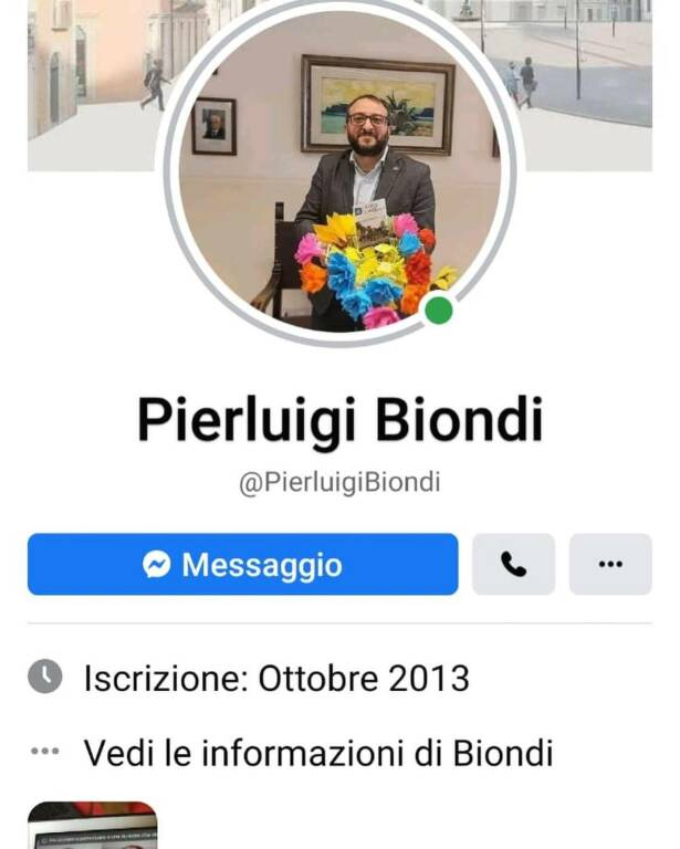 pierluigi biondi profili fake