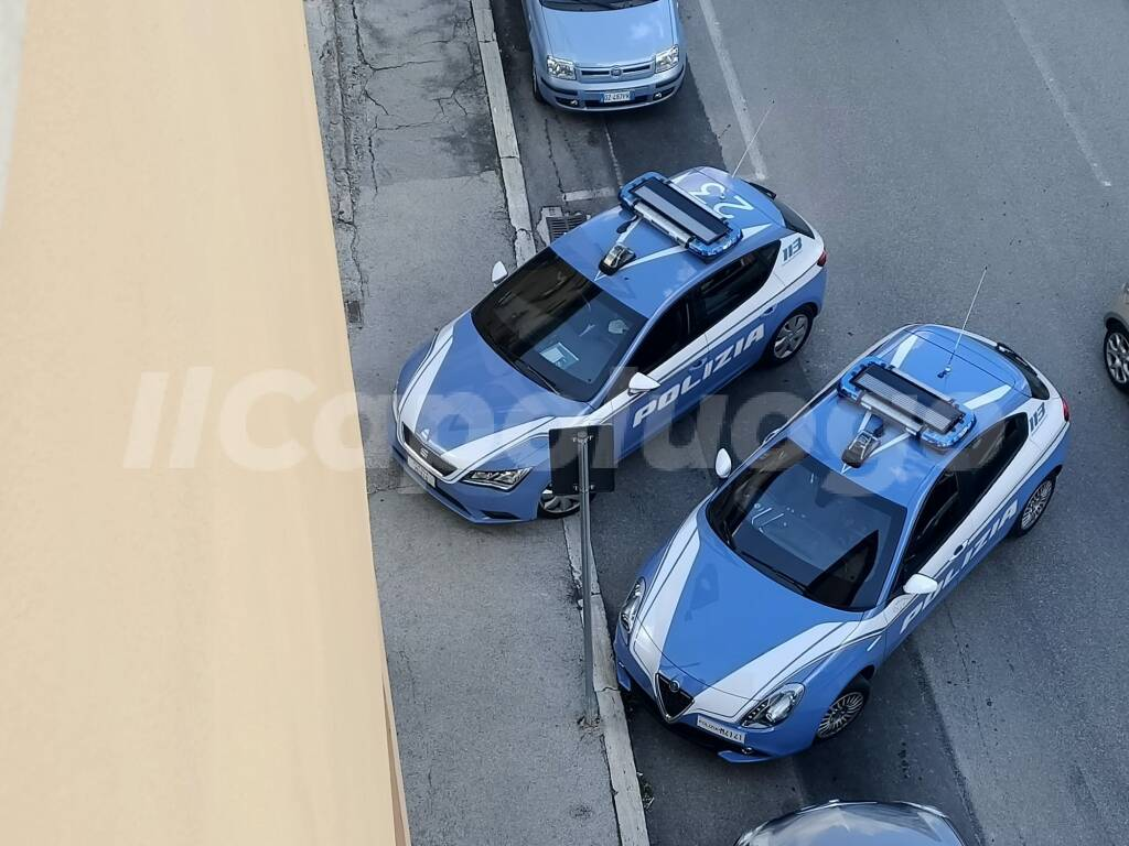 polizia volanti via strinella