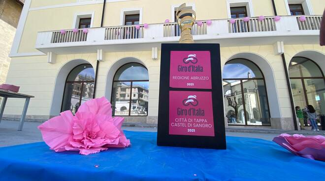 Giro d'Italia castel di sangro