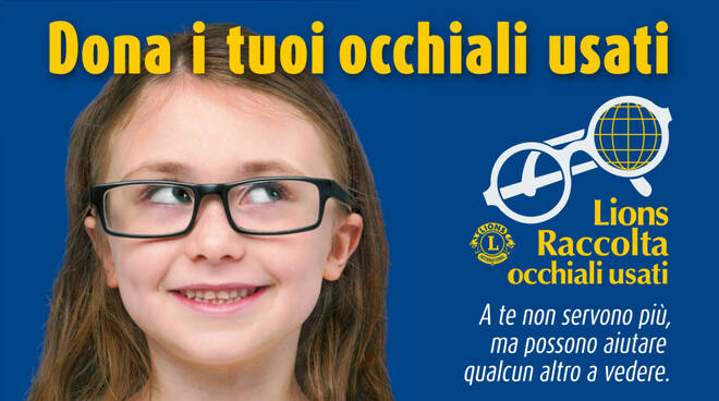Lions Club L'Aquila occhiali