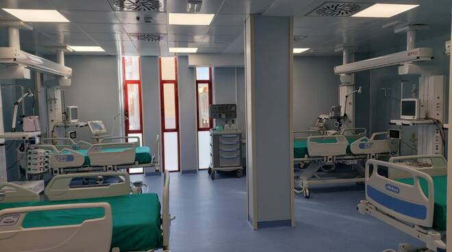 San Salvatore 4 nuovi posti terapia intensiva