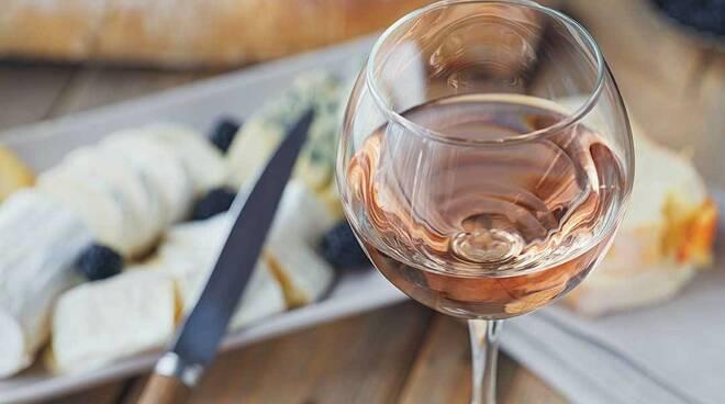 vino rosato e cibo