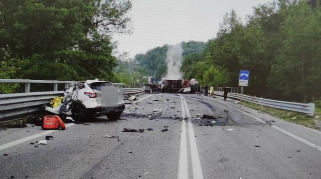incidente mortale superstrada liri