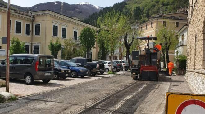 lavori strade provincia giro d'italia