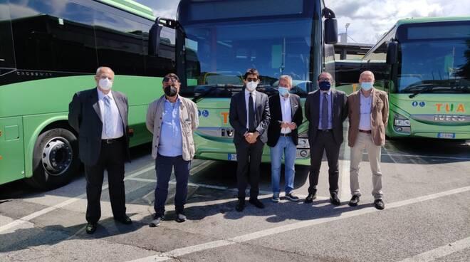 tua bus provincia l'aquila