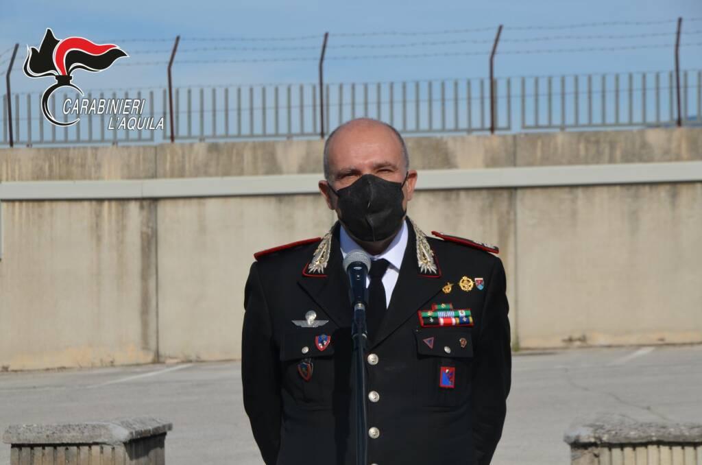 carabinieri l'aquila cerrina saluto encomi