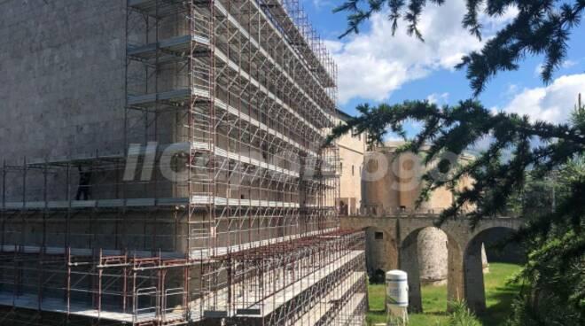 castello cinquecentesco fortezza spagnola l'aquila