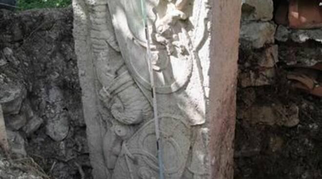 corcumello capistrello fregio soprintendenza