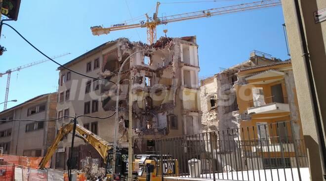 demolizioni via sallustio