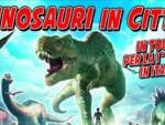 dinosauri in città l'aquila