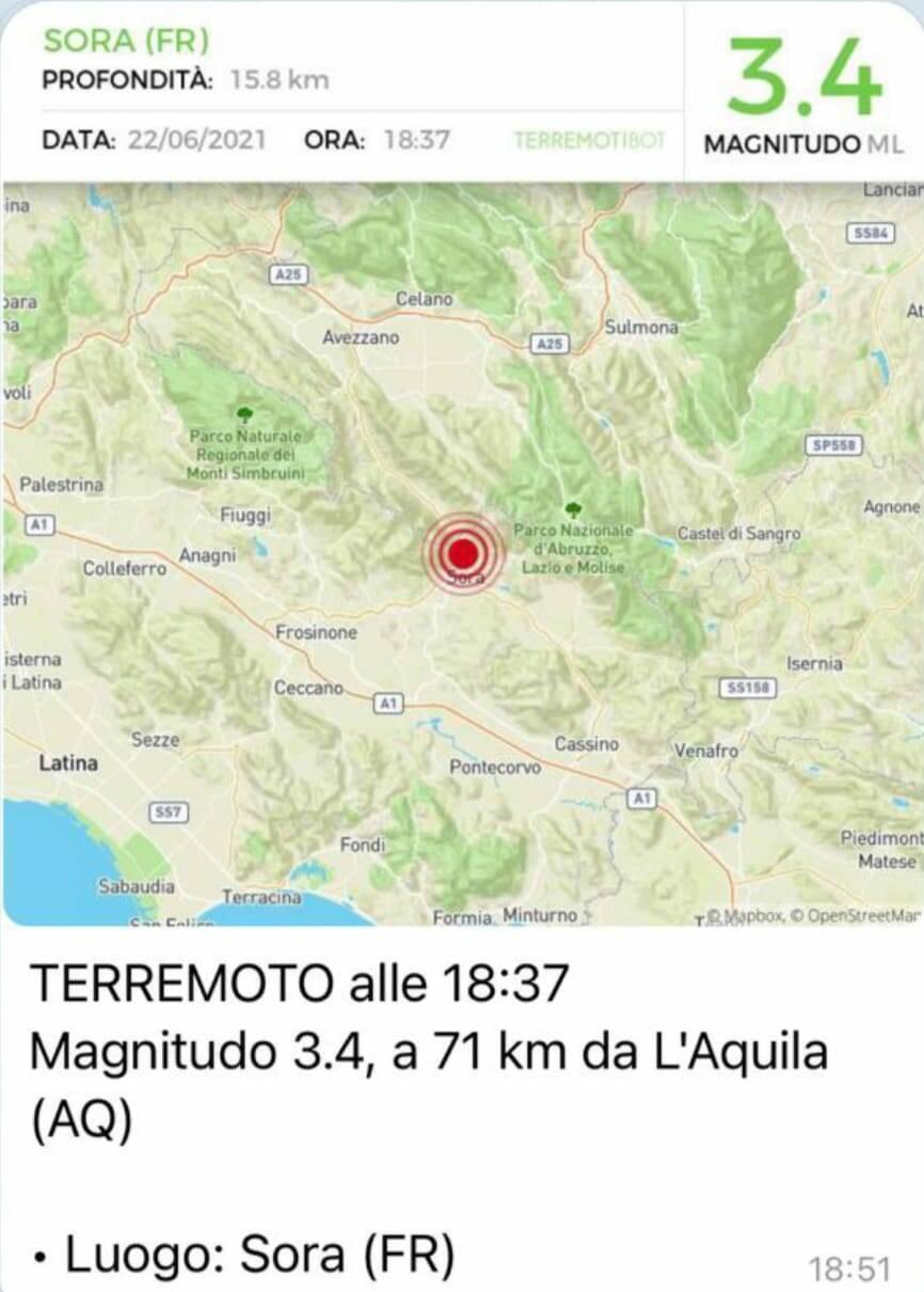 terremoto marsica sora