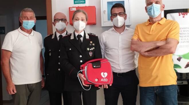 defibrillatori parco
