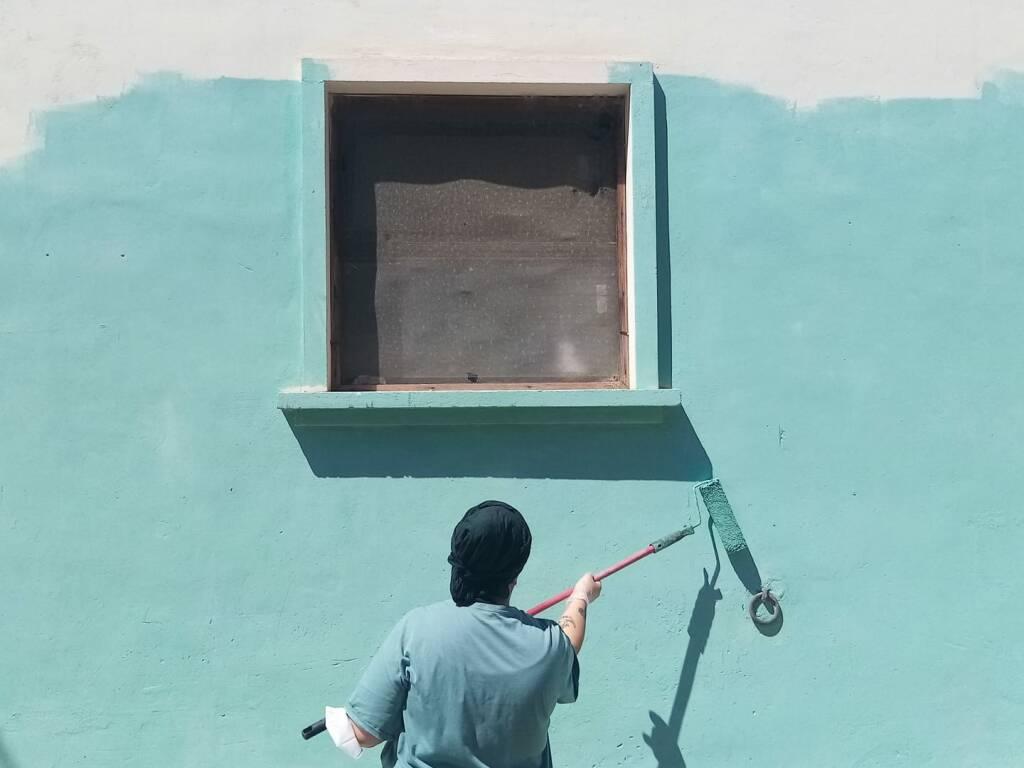 murale san benedetto in perillis Michela di lanzo