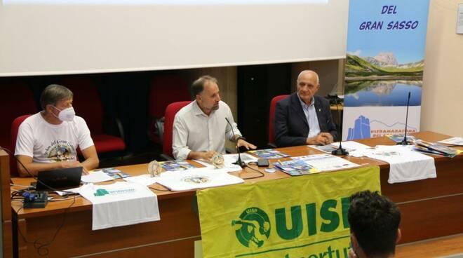 presentazione ultramaratona gran sasso 2021