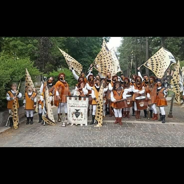 sbandieratori - parata della tradizione