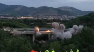 esplosioni viadotto genzano
