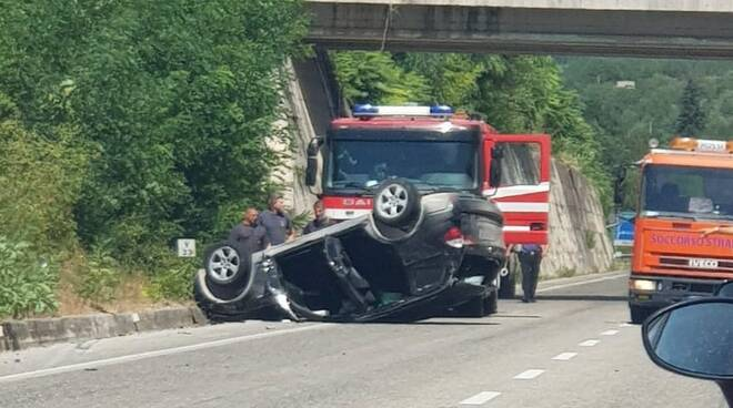 incidente balsorano ex superstrada del liri
