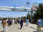 primo volo rientro in italia Afghanistan