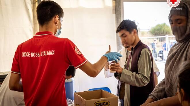avezzano campo profughi afghani