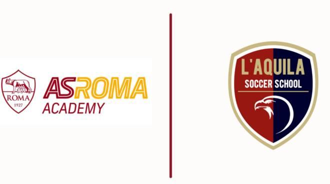 l'aquila soccer school as roma