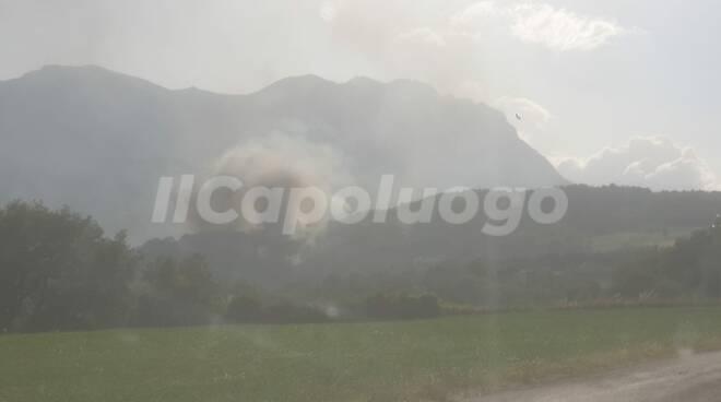Incendi Farindola 1 agosto