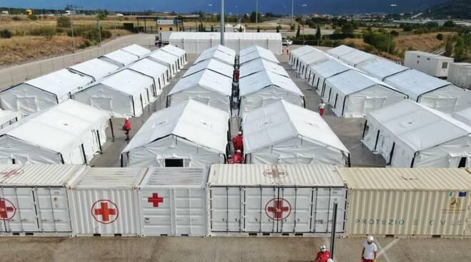interporto avezzano croce rossa profughi afgani
