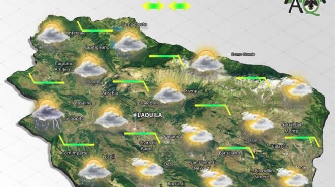 previsioni meteo 7 settembre