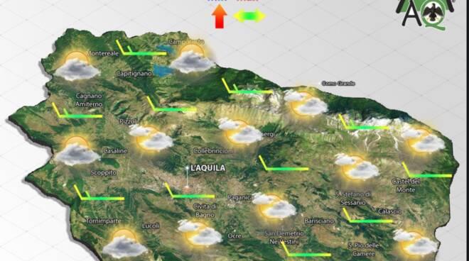 previsioni meteo mercoledì 15 settembre 2021