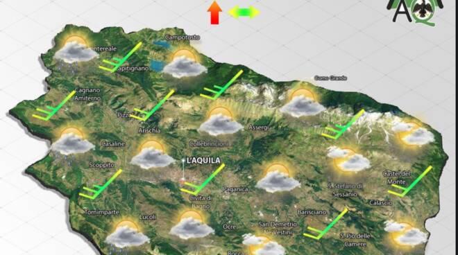previsioni meteo 16 settembre 2021