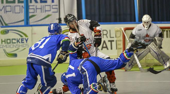 hockey inline azzurri nazionale maschile roccaraso