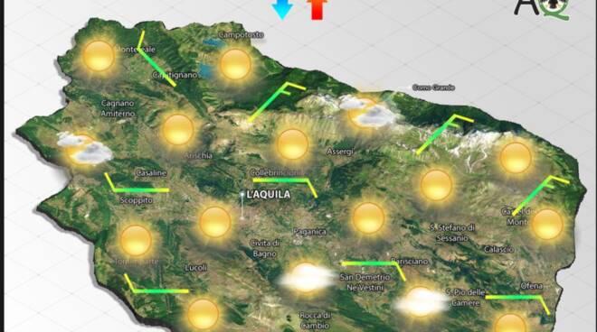 previsioni meteo 23 settembre