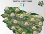 previsioni meteo 28 settembre
