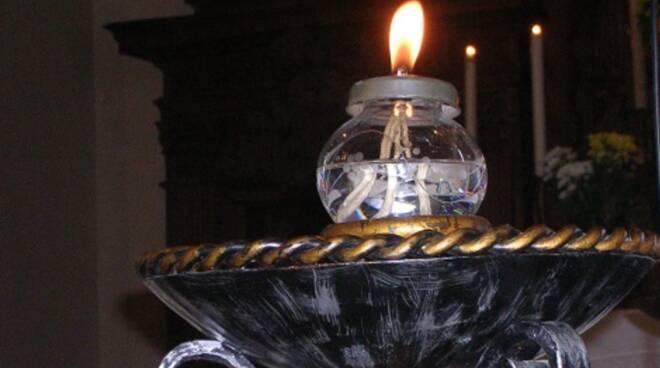 lampada votiva san francesco d'assisi
