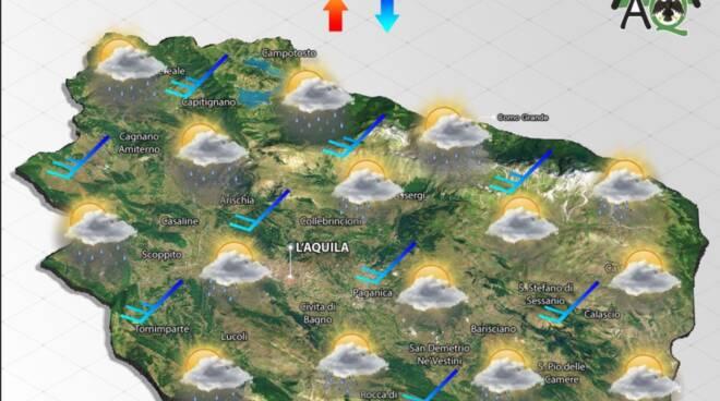 previsioni meteo martedì 5 ottobre 2021
