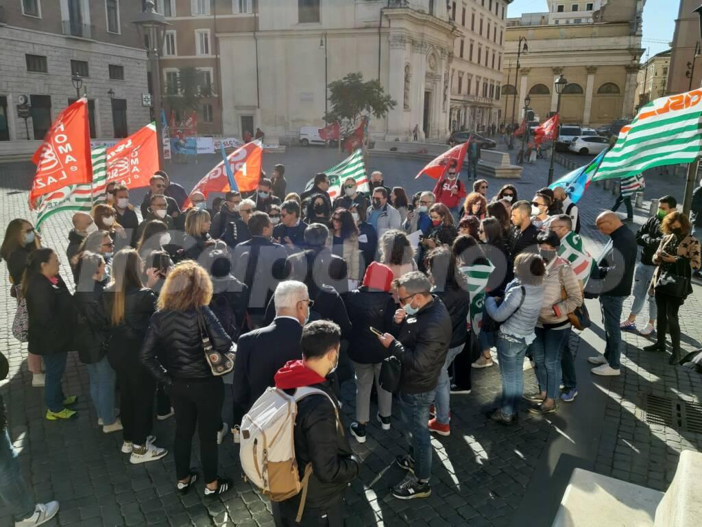 sciopero Call center Inps roma