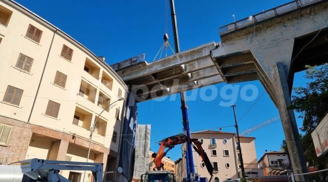 ponte belvedere demolizione