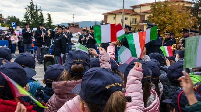 scuola san francesco fanfara polizia